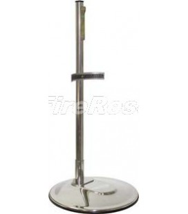 SINGLE STAINLESS STEEL INOX 304 STAND FOR FIRE EXTINGUISHER 9-12 KG/L