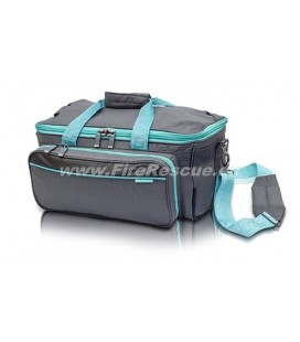 ELITE BAGS SPORT THERAPY BAG GP'S - GREY/TOUQUOISE